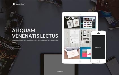 SeventyThree - Premium Portfolio