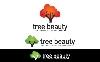 Tree Beauty Logo Template