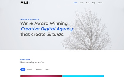 Mau - Multipurpose HTML Templates