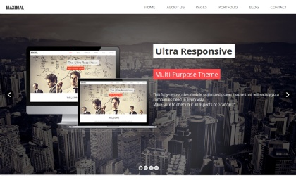 Maximal - Multi-Purpose Theme