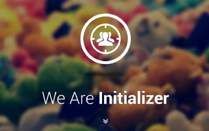 Initializer Portfolio/Landing Page