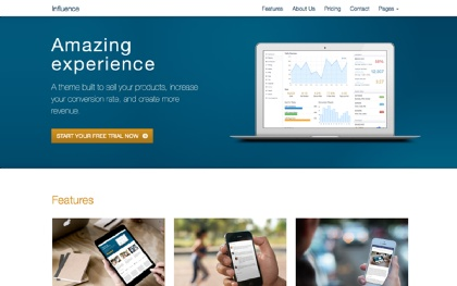 Influence - Responsive Business Theme
