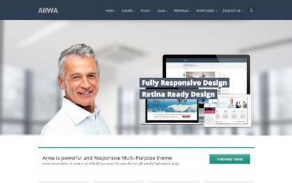 Arwa - Responsive Multipurpose Theme