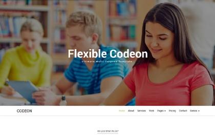 Codeon - Creative One Page Parallax