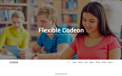 Codeon - Creative One Page Parallax