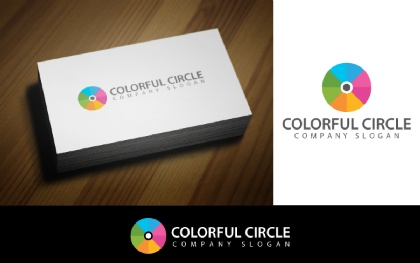 Colorful Disk Logo Template