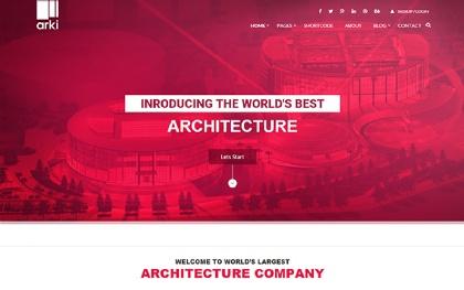 Arki - Architecture HTML Template