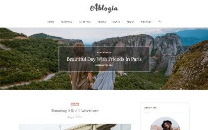 Ablogia - Responsive Blog Template