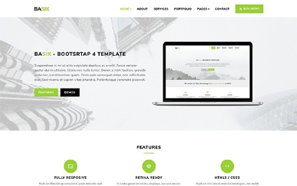 BASIX - Multipurpose Bootstrap Template