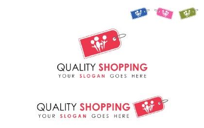 Online Shopping V.2 Logo Template