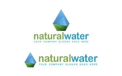 Natural Water V.2 Logo Template