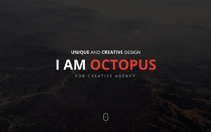 Octopus Onepage Parallax HTML Template