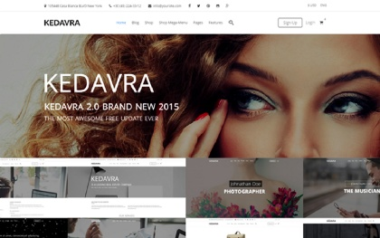 KEDAVRA - Multipurpose 2 Themes in 1