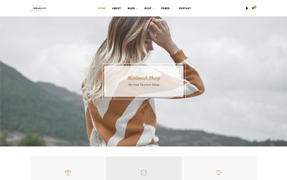 MS - Minimal Shop Template