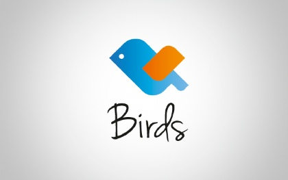 Birds Animal Logo
