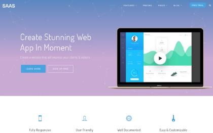 Saas - SaaS Products / Web App Theme