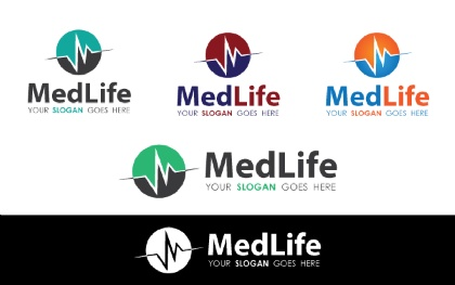 Medical Life Logo Template