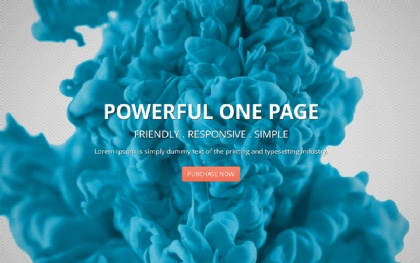 Deusone - Responsive One Page Template