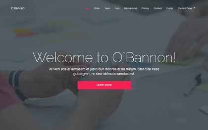 O'Bannon -  Multipurpose Template