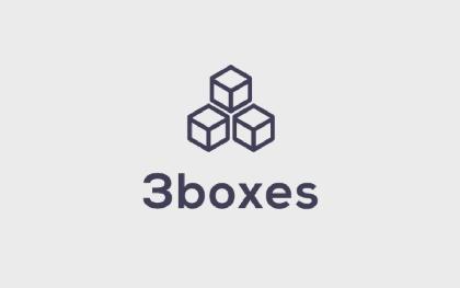 3 Boxes Logo