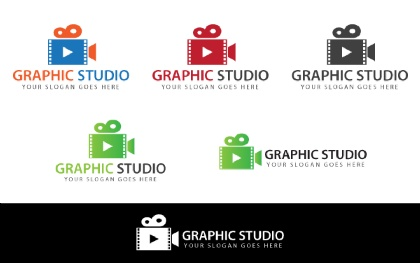 Graphic Studio Logo Template