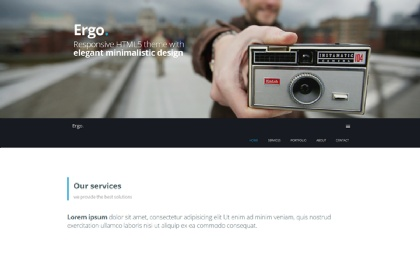 Ergo - One Page Theme