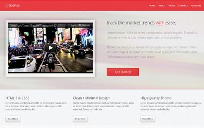 Brandiva+ - Delicious Landing Page