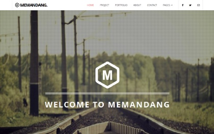 Memandang - Bootstrap Business Template