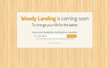 Responsive Woody Landing