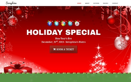 Seraphine - Holiday Marketing