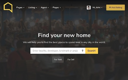 Listo - Premium Real Estate Template