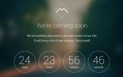 Mira - Coming Soon Landing Page