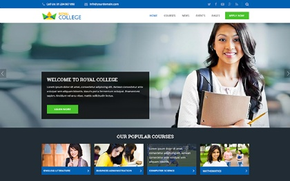 Royal - Multipurpose Education Template