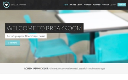 Breakroom - Multipurpose Corporate Theme