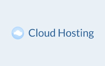 Cloud Hosting Logo Template