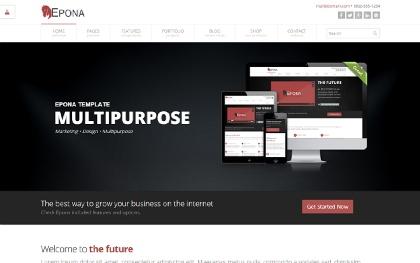Epona - Responsive Website Template