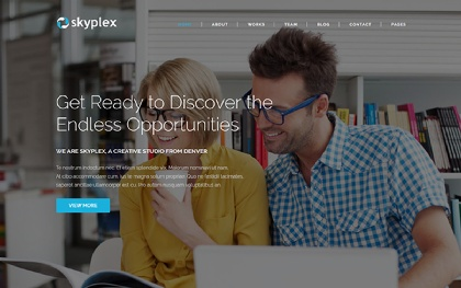Skyplex - Creative Studio Template