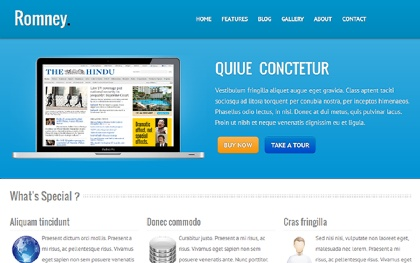 Romney - Responsive Business Theme