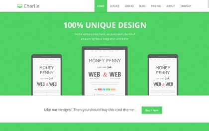 Charlie - Multi Purpose Parallax Theme