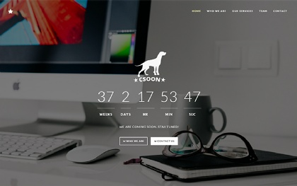 Csoon - Coming Soon and Startup Theme