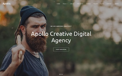 Apollo - Multipurpose One Page Template