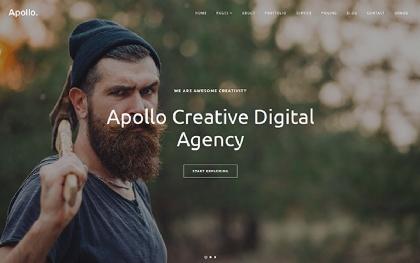 Apollo - Multipurpose One Page Template