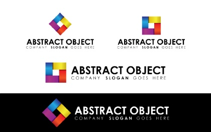 Abstract Object Logo Template