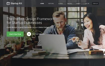 Startup Kit | SaaS Startups (Bootstrap4)
