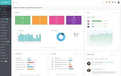 Admin AppKit | Admin Theme + AngularJS