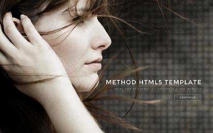 Method - Landing Page HTML