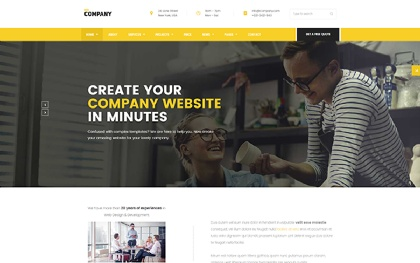 Company - Business Theme for Any Niche