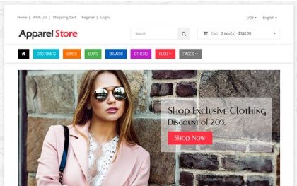 Shoppe Stores - Multipurpose Template