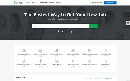 Jobs - Job Portal HTML Template