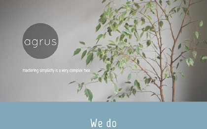 Agrus - One Page Responsive Theme